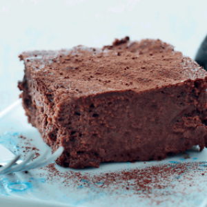 world's best chocolate cake - without flour